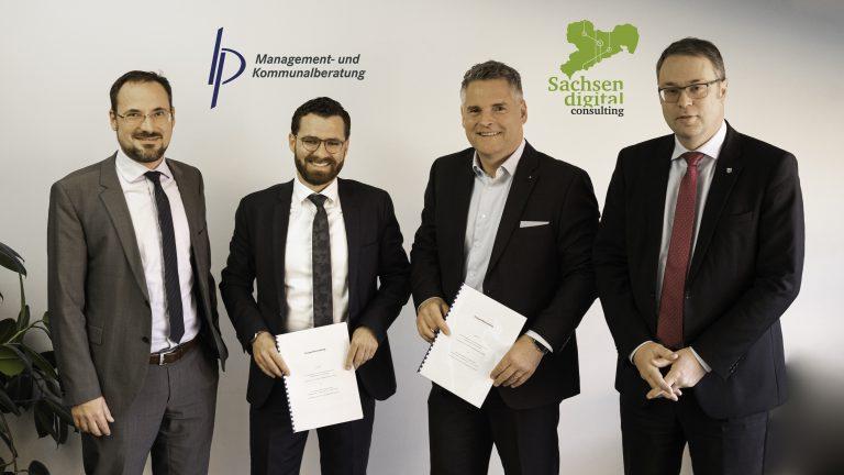 Read more about the article Kooperation zwischen B & P und SDC für die Digitalisierung von Sachsens Schulen