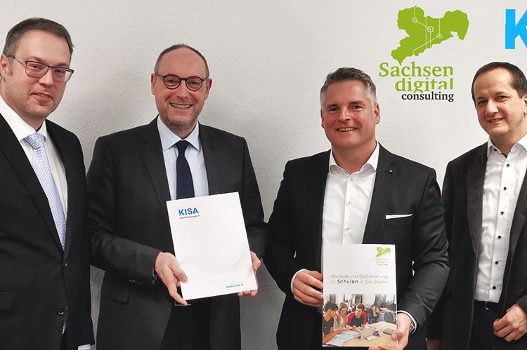 Read more about the article KISA und Sachsen Digital Consulting beschließen Koorperation für den DigitalPakt Schule