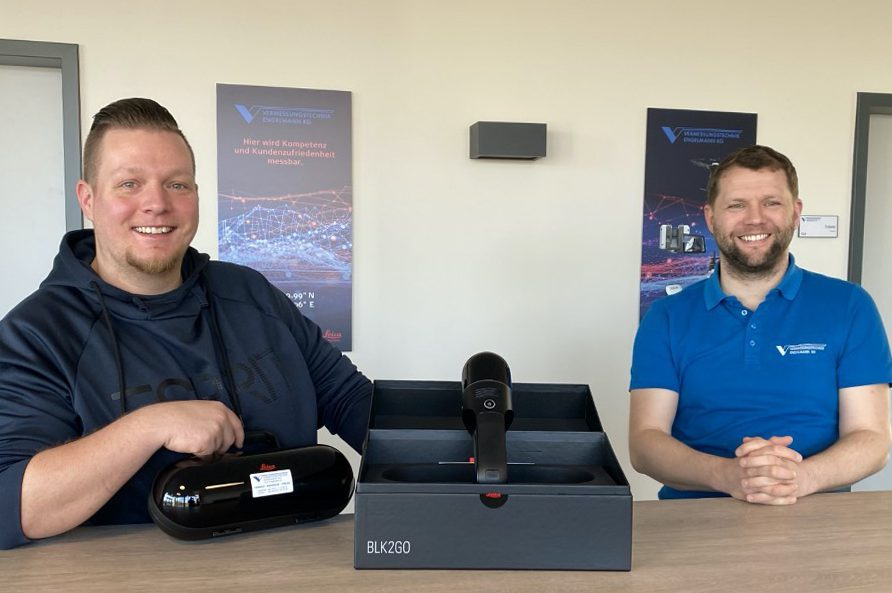 Read more about the article SDC Sachsen Digital Consulting erhält ersten Leica BLK2GO in Deutschland | Mobiler 3D-Laserscanner im Einsatz für den Digitalpakt Schule in Sachsen